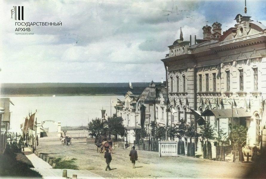 Спуск к реке Каме по ул. Соликамской