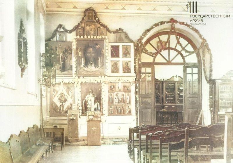 Внутренний вид Стефановской часовни