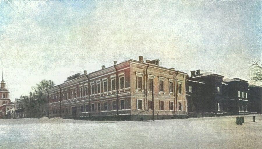Здания губернского детского приюта