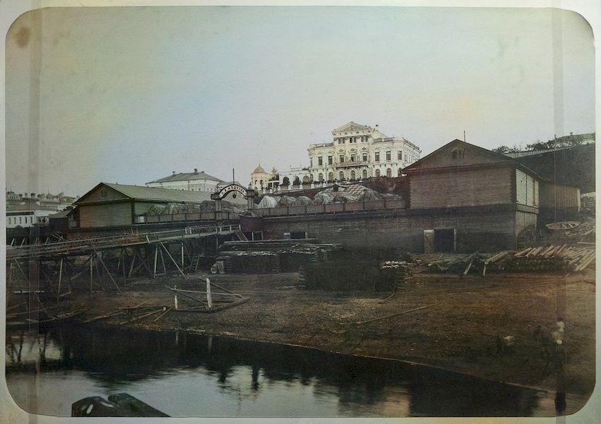 Дом Мешкова, пристань Мешкова