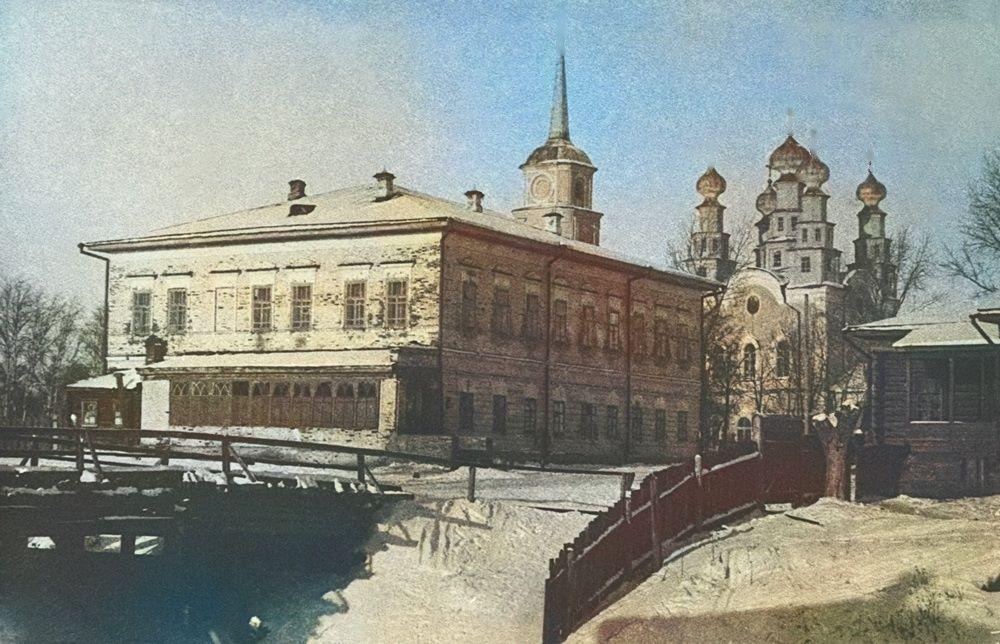 Село Верхние Муллы и Никольская церковь
