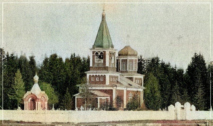 Деревянная церковь Успения Пресвятой Богородицы на Старом Егошихинском кладбище