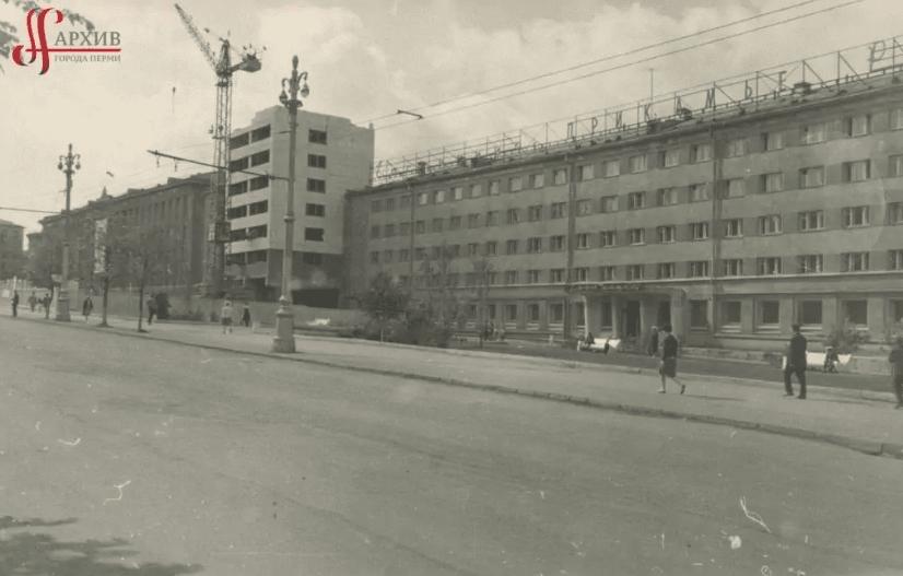 Строительство отеля Прикамье