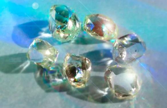 Первый алмаз