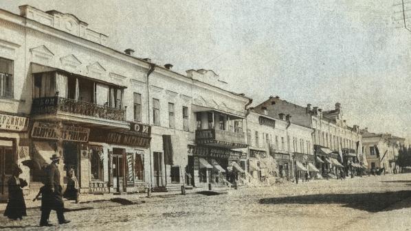 Доходный дом купца Аксёнова на улице Сибирская