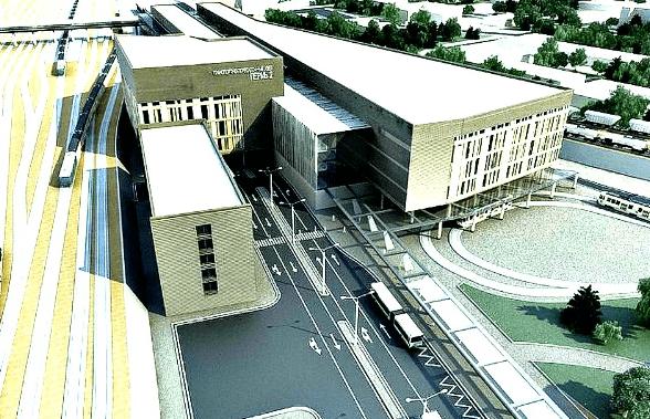 Проект реконструкции жд вокзала Пермь 2