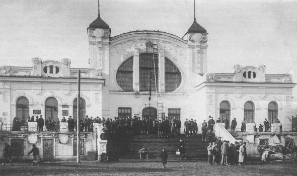 Вокзал станции Пермь II, 1920-30 года