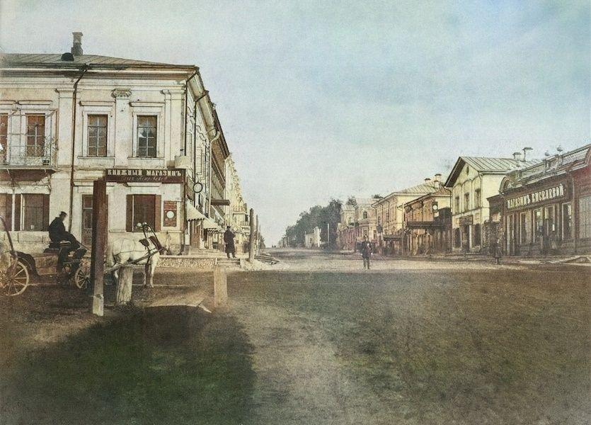 Магазины О.Петровской и Киселёвой