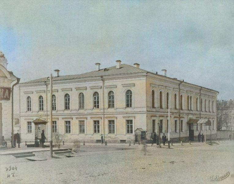 Здание Пермской казённой палаты