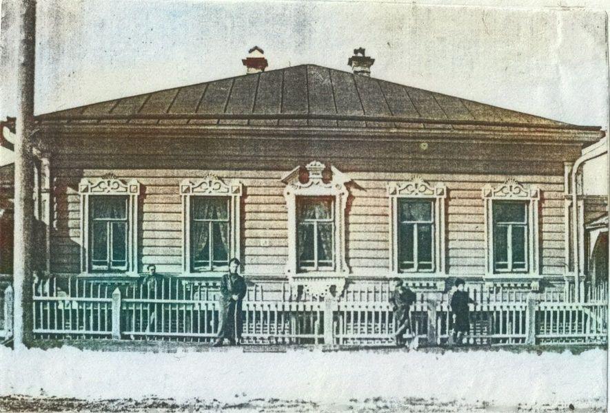 Дом Бажановых