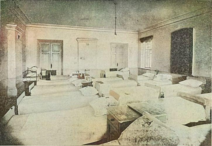 В общежитии при Мариинской женской гимназии