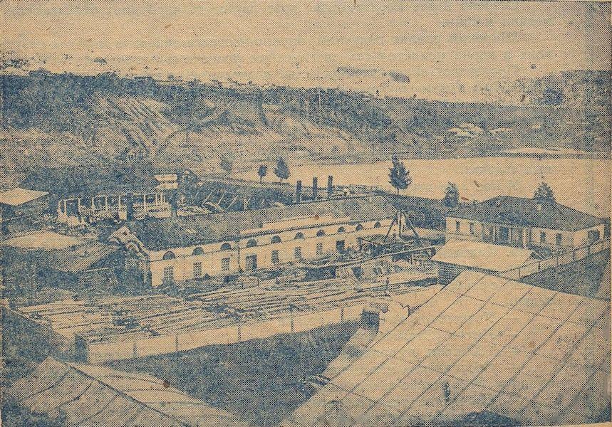 Медеплавильный завод возле Мотовилихинского пруда