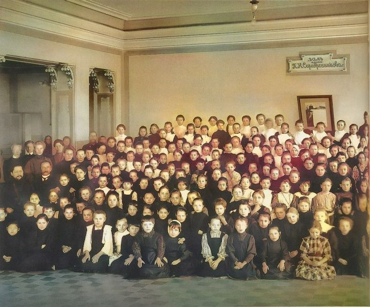В Богородицкой школе