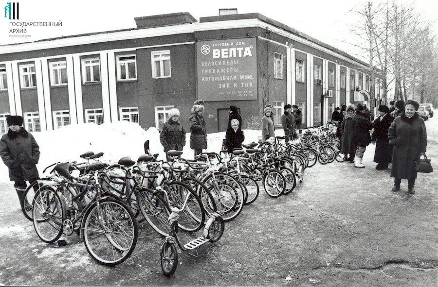 История пермского велосипеда