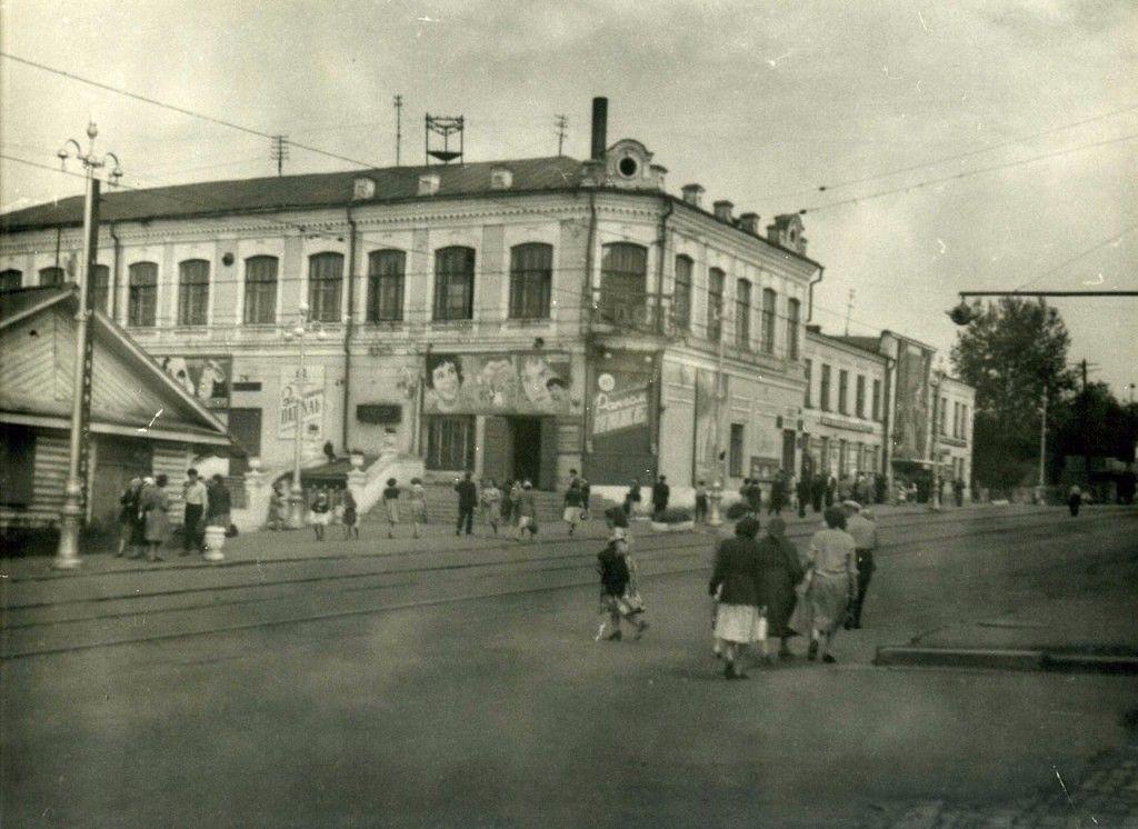 """Кинотеатр """"Горн"""", 1962 год."""