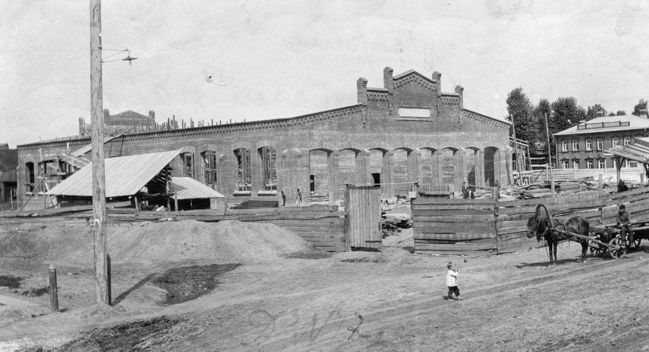 Строительство здания трамвайного парка в Разгуляе на 40 вагонов