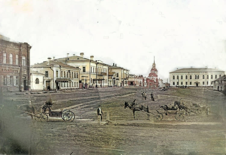 Вид на улицу Покровская (Ленина)