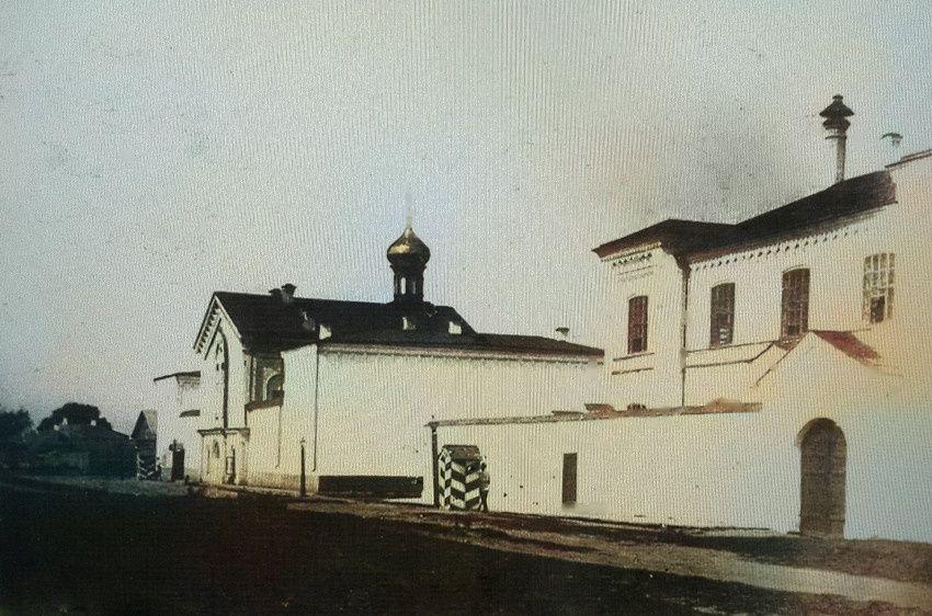 Церковь при губернской тюрьме в Разгуляе