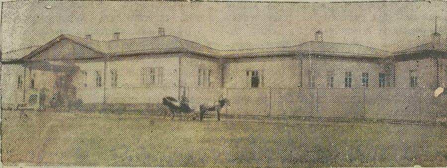Старая больница в Мотовилихе