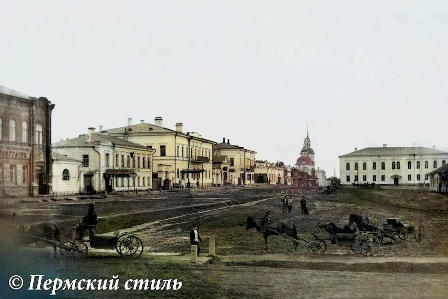 Панорама улицы Покровской