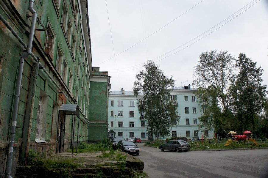 Дом грузчика в Перми