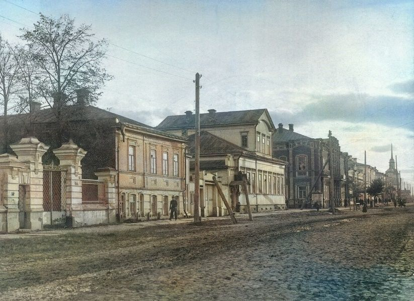 Жандармское управление на улице Покровской