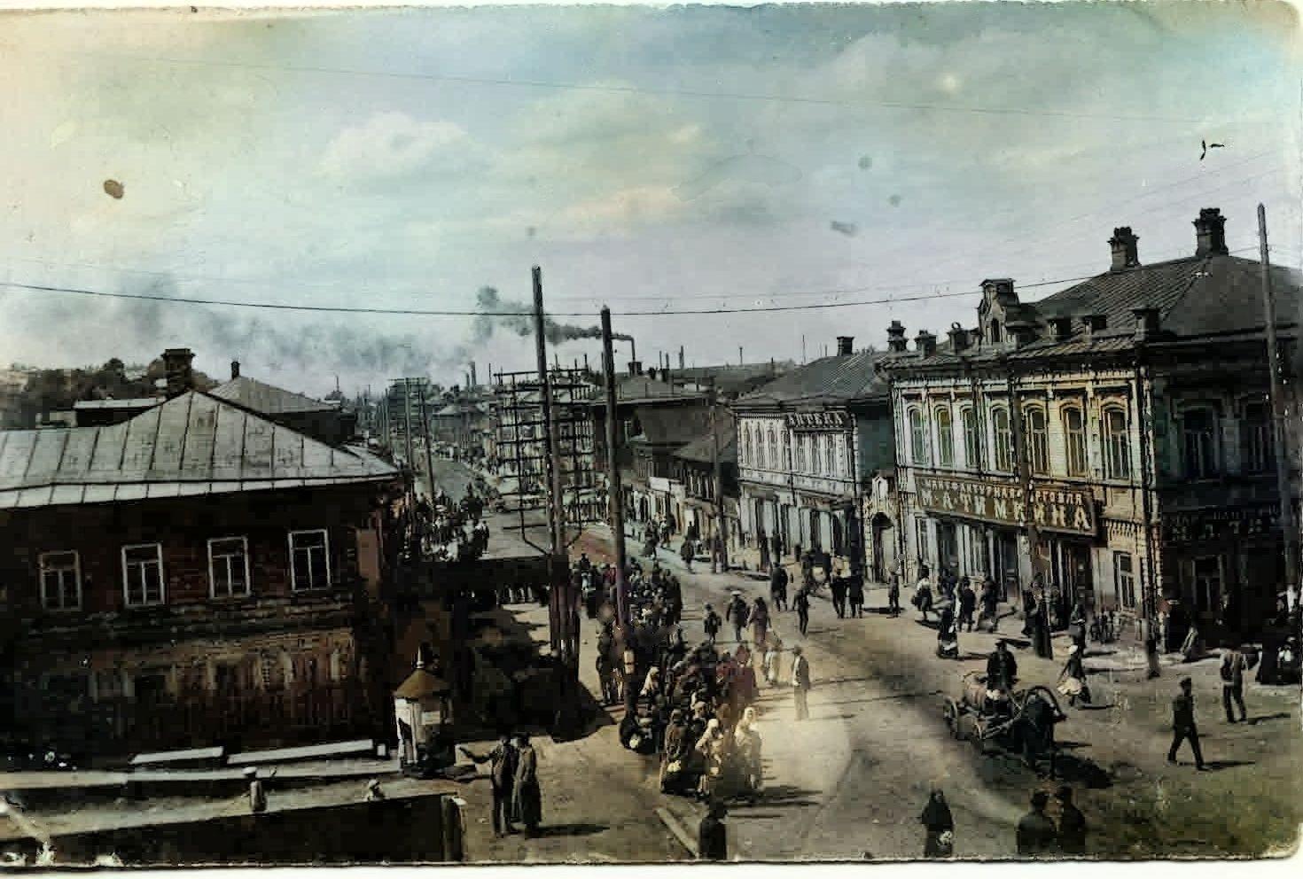 Улица Большая в Мотовилихе (сейчас улица 1905 года)