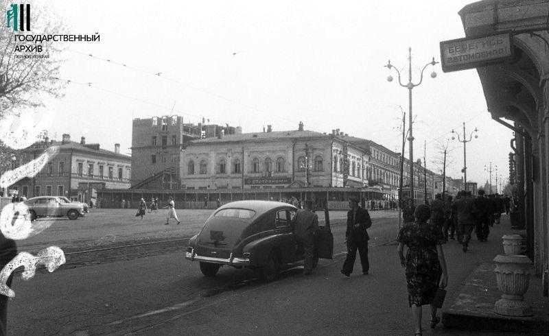 Расширение здания Центрального Гастронома