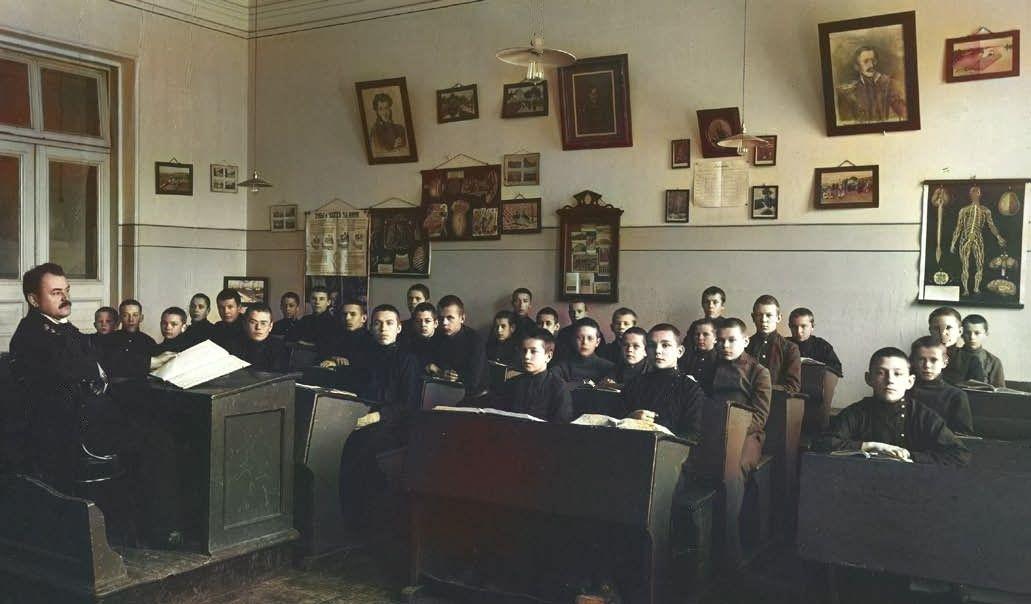 Лекция в духовном училище