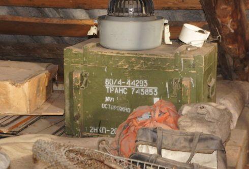 артефакты на чердаке дома