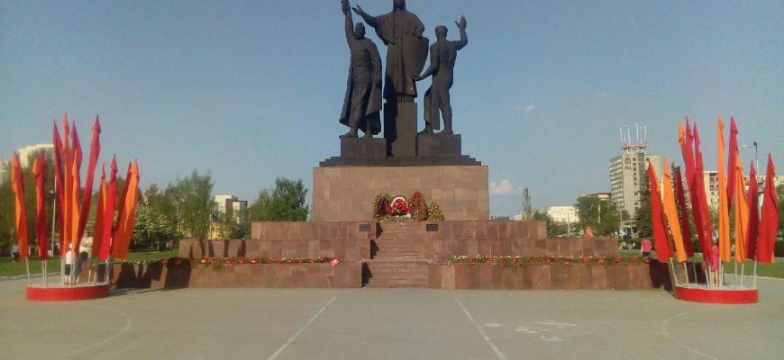 Памятник героям фронта и тыла в Перми