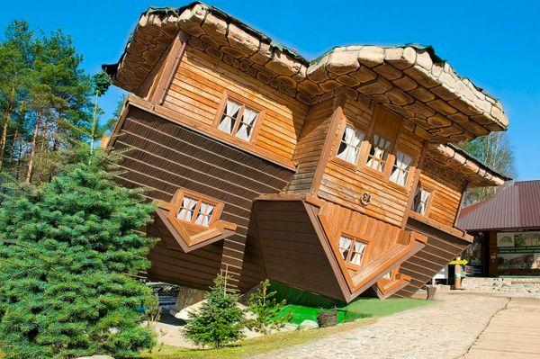 Перевёрнутый дом в Перми