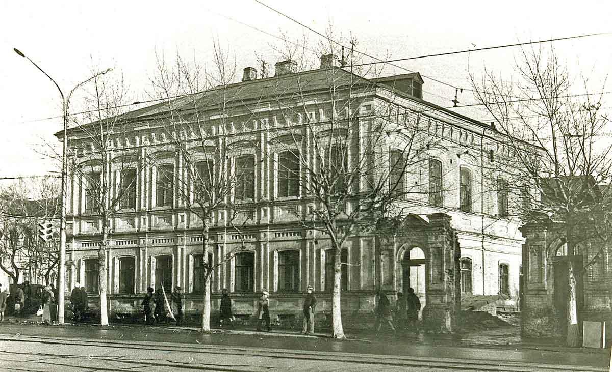 Дом братьев Савиных в Перми