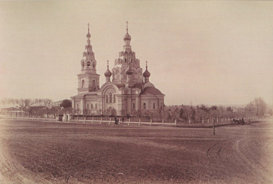 Воскресенская церковь в Перми