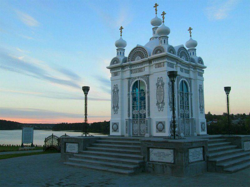 Часовня святого князя Александра Невского в Добрянке