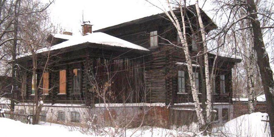 Дом главного механика Добрянского железоделательного завода П.П. Бушуева
