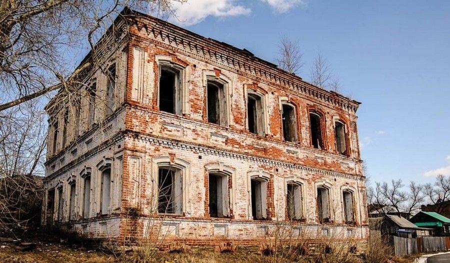 Здание правления Добрянской подзаводской волости
