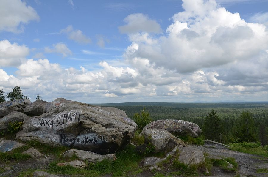 Белые камни в Гремячинске