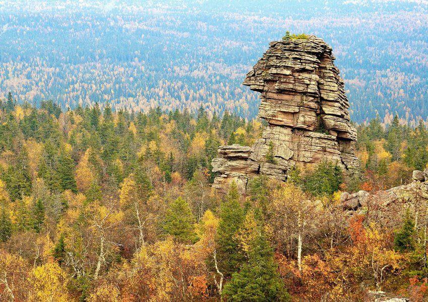 Гора Помянённый (Колчимский) камень