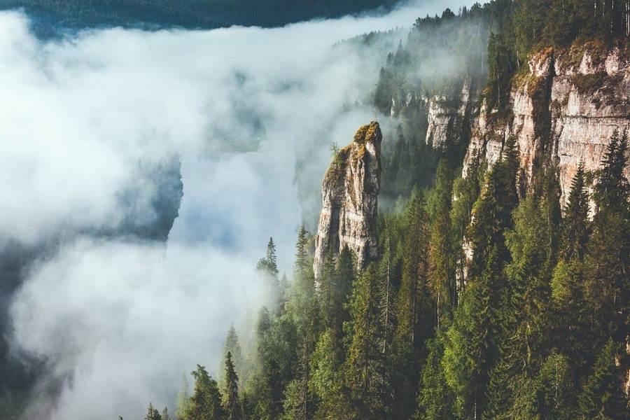 Природа Усьвинских столбов